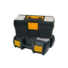 1x Tool Box with 2 Organisers and 1x Power Tool Case