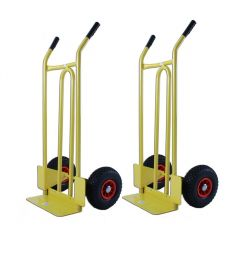 Pack of 2 - Solid Toe Sack Truck - 200kg A
