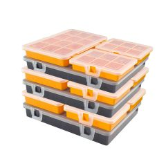 3x Small Parts Storage Container Set