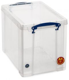 19L Really Useful Boxes - 395L x 255W x 290D - Clear