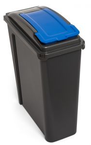 25 Litre Slimline Recycling Bin with Lid