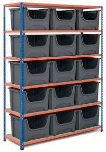 Storalex SX340 Bay - 1980mm High - With Large Stacking Pick Bins