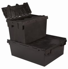 Euro Containers - Tote Boxes - Black