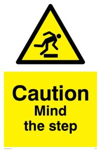 Mind The Step - Warning Sign