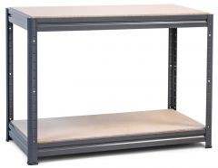 1x Storalex HRX Workbenches - Chipboard - 600kg - Grey C