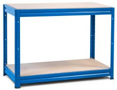 1x Storalex HRX Workbenches - Chipboard - 600kg - Blue A