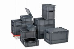 Euro Containers - Grey (12 Sizes)