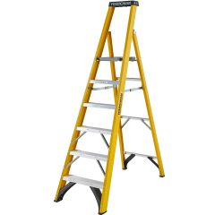 Youngman S400 Fibreglass Platform Step Ladders - (4 Sizes)