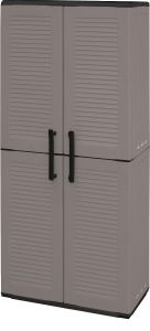 Storage Cupboards - Full Height - Grey