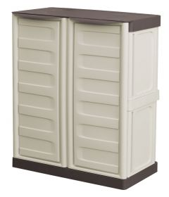 Storage Cupboards - Half Height - White