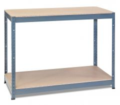 1x Storalex CRW Workbenches - Chipboard - 400kg - Grey A
