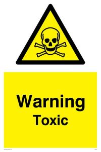 Warning Toxic - Warning Sign