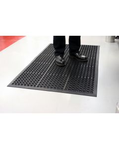 Non-Slip Anti-Fatigue Mat - Black