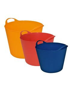 Flexi Tub Containers - 3 colour bundle