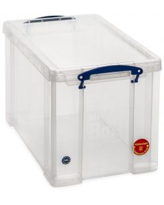 24L Really Useful Box 290 x 270 x 465 - Clear