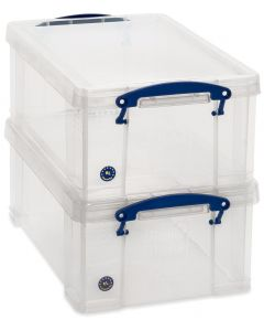 Pack of 2 9L Really Useful Boxes