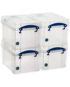 4 x 3L Really Useful Boxes