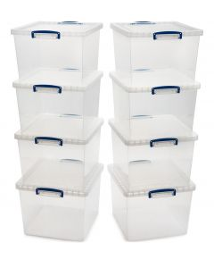 8 x 33.5L Nestable Really Useful Boxes - Multibuy Offer