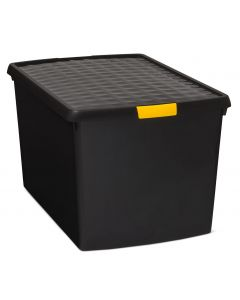 3 x DIY Plastic Boxes with Clip Lid (4 Sizes)