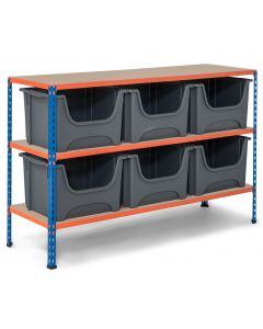 Storalex SX340 Bay - 915mm High - With Large Stacking Pick Bins