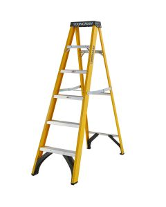 Youngman S400 Fibreglass Step Ladders - (4 Sizes)