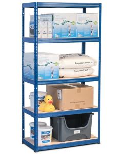 1x Storalex VRS Heavy Duty Industrial Shelving - 280kg - Blue