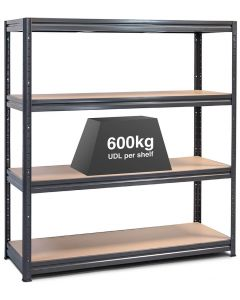 1x Storalex HRX Super Heavy Duty Industrial Shelving - 450 - 600kg