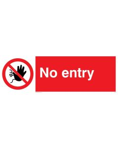 No Entry - Prohibition Sign