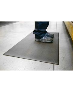 Orthomat Premium Dual Layer Anti-Fatigue Mat - Black