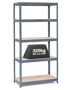 1x Storalex VRS Heavy Duty Industrial Shelving - 280 / 325kg - Grey