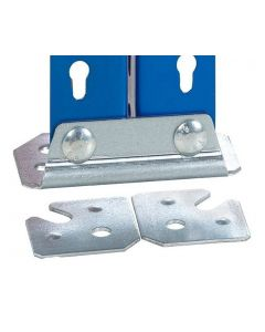 2 x Storalex SX400 / SX800 Double Steel Feet - Includes Fixings & Levelling Plates - Galvanised
