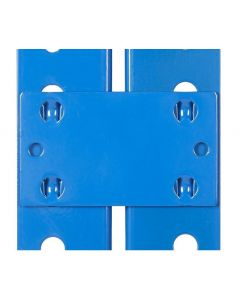 Pack of 4 Storalex SX800 Tie Plates / Bay Connectors (each pack joins 2 bays)
