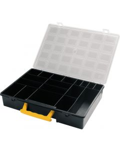 2x Tool Cases and 5x Small Parts Storage Containers