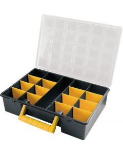 2x Tool Cases with Removable Dividers - 17 Compartments