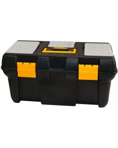 1x Tool Box with 3 Organisers and 1x Power Tool Case
