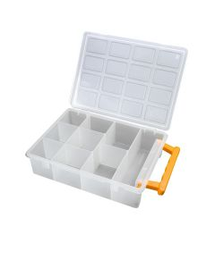 5x Small Parts Storage Containers with Handles