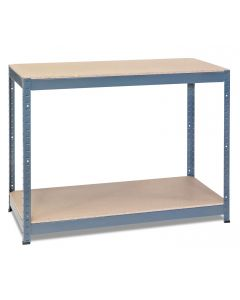 1x Storalex CRW Workbenches - Chipboard - 400kg - Grey