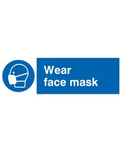 Wear Face Mask - Mandatory Sign