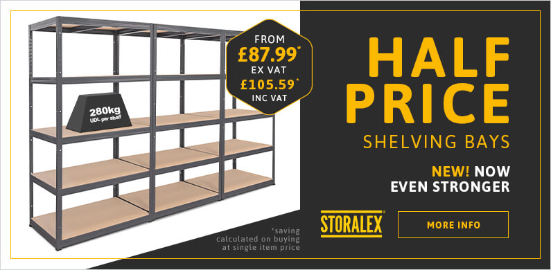 Industrial Shelving and Garage Shelving Special Offers