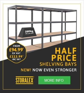 Garage Shelving and Industrial Shelving Special Offers